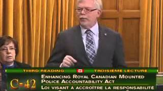 Bill C-42- Enhancing Royal Canadian Mounted Police Accountability Act- Monday, February 11, 2013