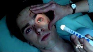 Bates Motel 04x01 scenes: Norman's piano flashback in the hospital