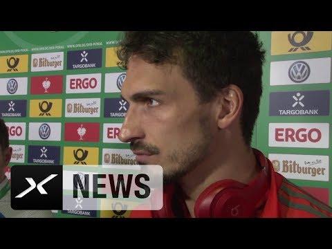 "Mats Hummels kritisiert: ""Nicht nur Glück und Pech"" | FC Bayern München | DFB-Pokal | SPOX"