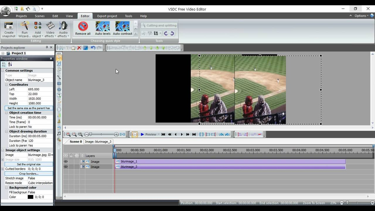 vsdc free video editor youtube
