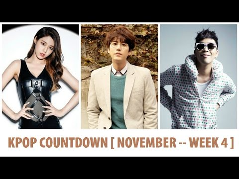 KPOP Countdown 2014 [ November -- Week 4 ]