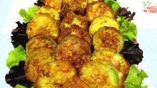 Вкусно - #КАБАЧКИ Фаршированные Мясом Жареные КАБАЧКИ #Рецепты