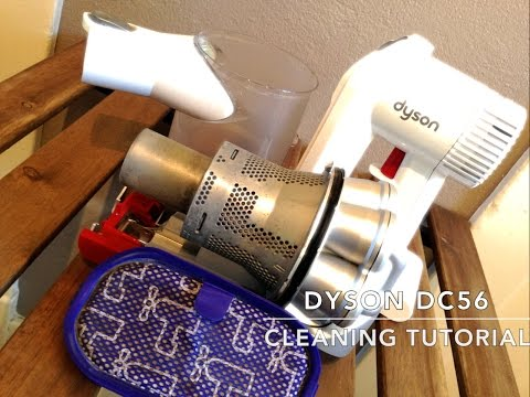 Dyson DC56 HandVac Disassembly and Cleaning Tutorial