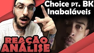 choice pt bk inabalveis reao anlise