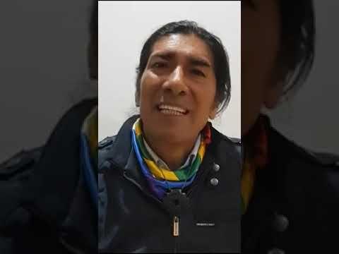 Testimonio del líder indígena ecuatoriano Yaku Pérez desde Quito.