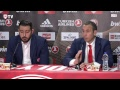 Live Press Conference Olympiacos BC - AX Armani Exchange Olimpia