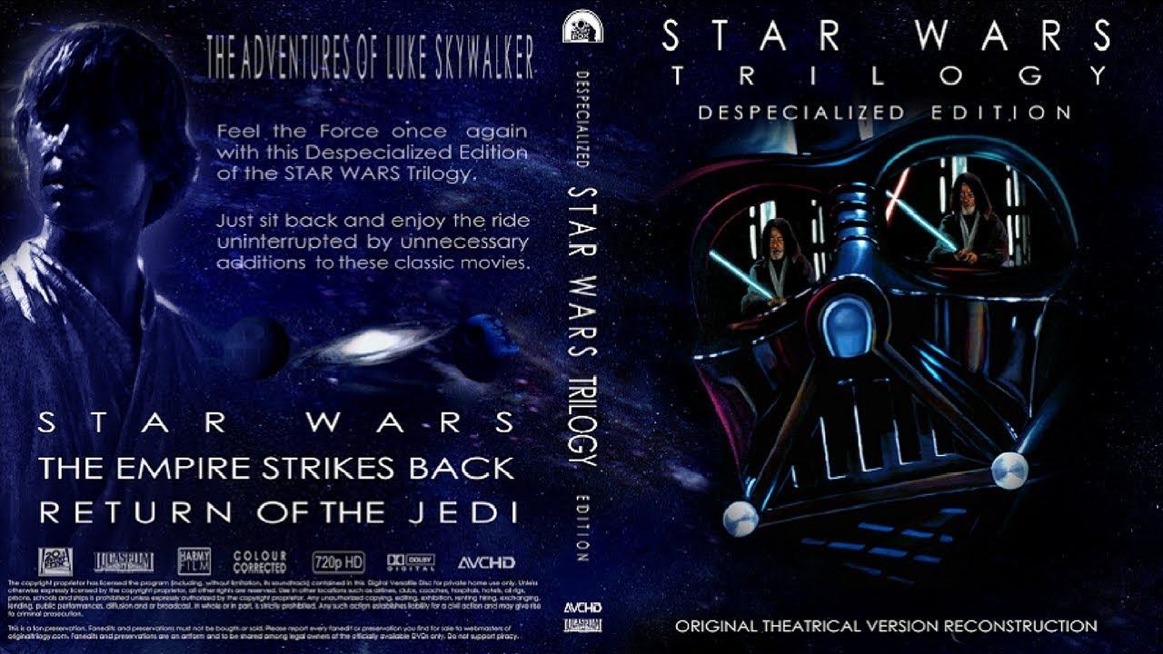Star Wars Trilogy Despecialized Editions Unboxing