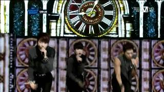 110929 infinite- paradise (comeback stage)