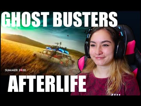 GHOST BUSTERS: AFTERLIFE Official Trailer Reaction!