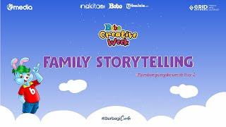 Entertainment: Family story telling dari #Mendongengdirumah Day 1