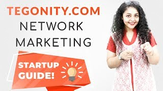 Tegonity Network Marketing Startup Guide | How To Do Network Marketing Business 📚