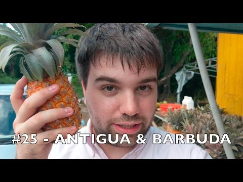 (#25 🇦🇬) ANTIGUA AND BARBUDA - Tom goes to 100 countries in 4k UHD