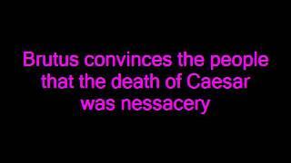 Julius Caesar The Play - Shakespeare, Summary