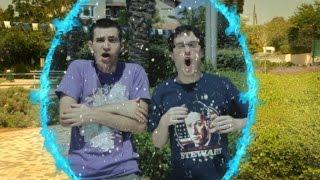 תום ואור מהיקום המקביל שרוצים להתחלף כי אצלם יש חורף כל הזמן והם רוצים קיץ