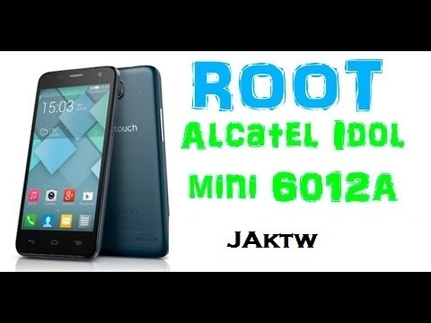 Root Alcatel One Touch 6012A Idol Mini