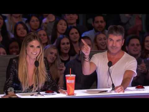 America's Got Talent 2017 The Singing Trump Auditions 1 Full Audition