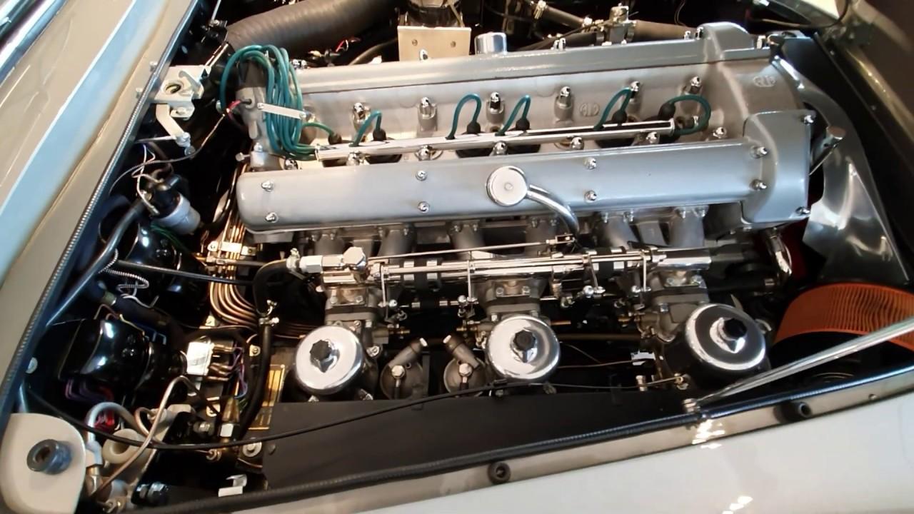 1964 Aston Martin Db5 Engine Youtube