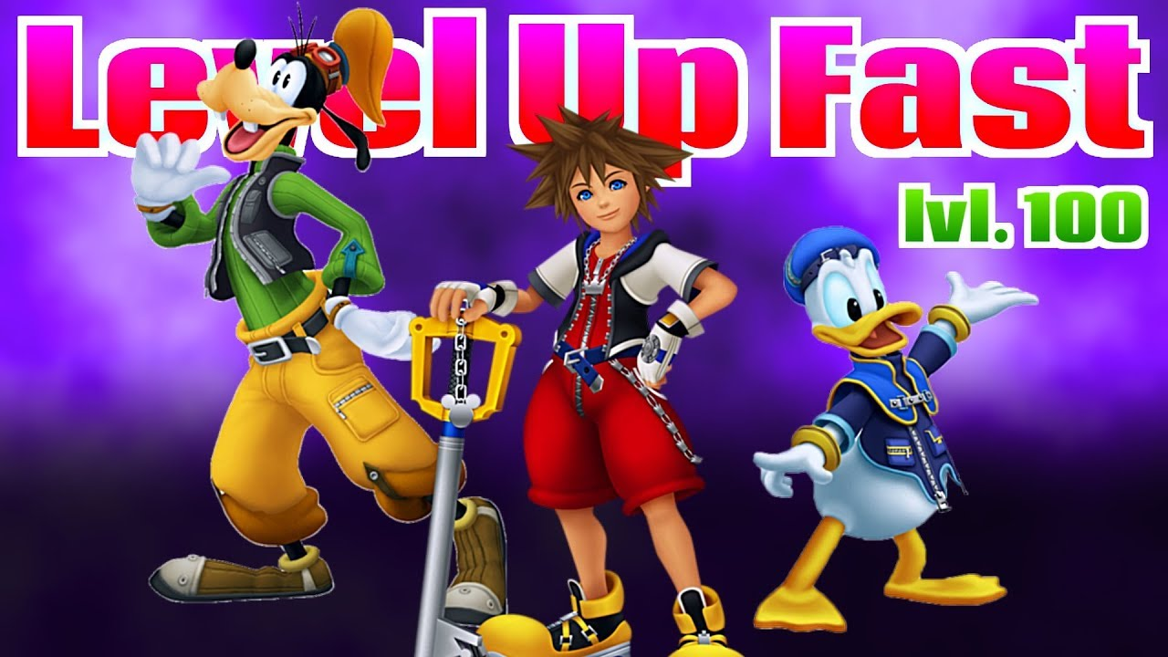 How to level up fast in Kingdom Hearts Hd 1.5 Remix - YouTube