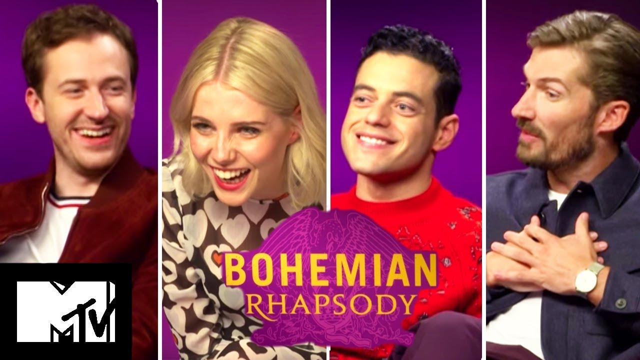 Bohemian Rhapsody Cast Play Who Said It Queen or The Queen  MTV MOVIES  YouTube