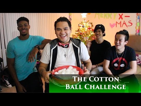 Cotton Ball Challenge with Bonus Challenge!