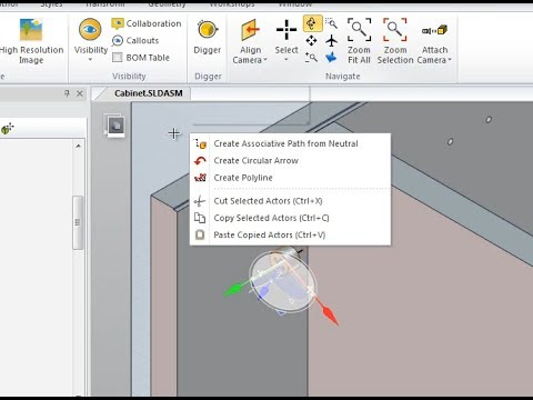 Creating Installation instructions using SOLIDWORKS Composer (Furniture example)