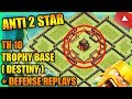 Clash Of Clans - NEW Town Hall 10 (TH10) Trophy Base 2018 + Defense Replays | ANTI 2 STAR | JULY !!