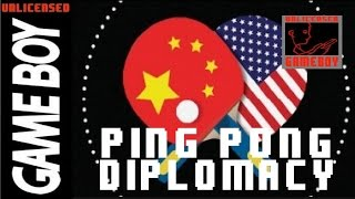 PING-PONG DIPLOMACY (GAME BOY) - GBDK: Game Boy C Programming [GAMEBOY HOMEBREW]