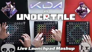 POP/STARS vs MEGALOVANIA // Launchpad Mashup