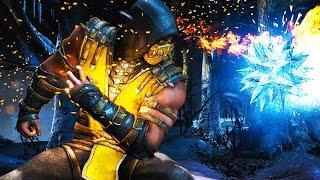 Mortal Kombat X Gameplay - Hellfire Scorpion Multiplayer FULL Gameplay (60FPS 1080p)