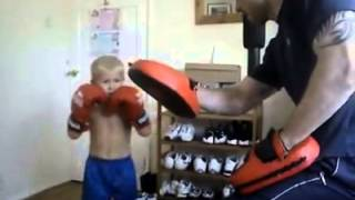 amazing kick boxing kid