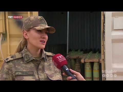 Zeytin Dalı'nın kadın subayları.