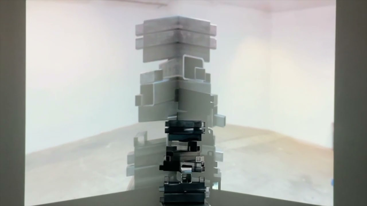 Monument  120 pound of steel sound sculpture