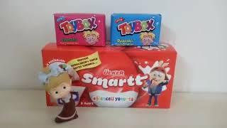 Maşa Ülker smart eğlenceli yumurta ve toybox açıyor, masal treni