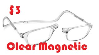 Aliexpress Unboxing: $3 CLEAR CLIC Magnetic Reading Glasses