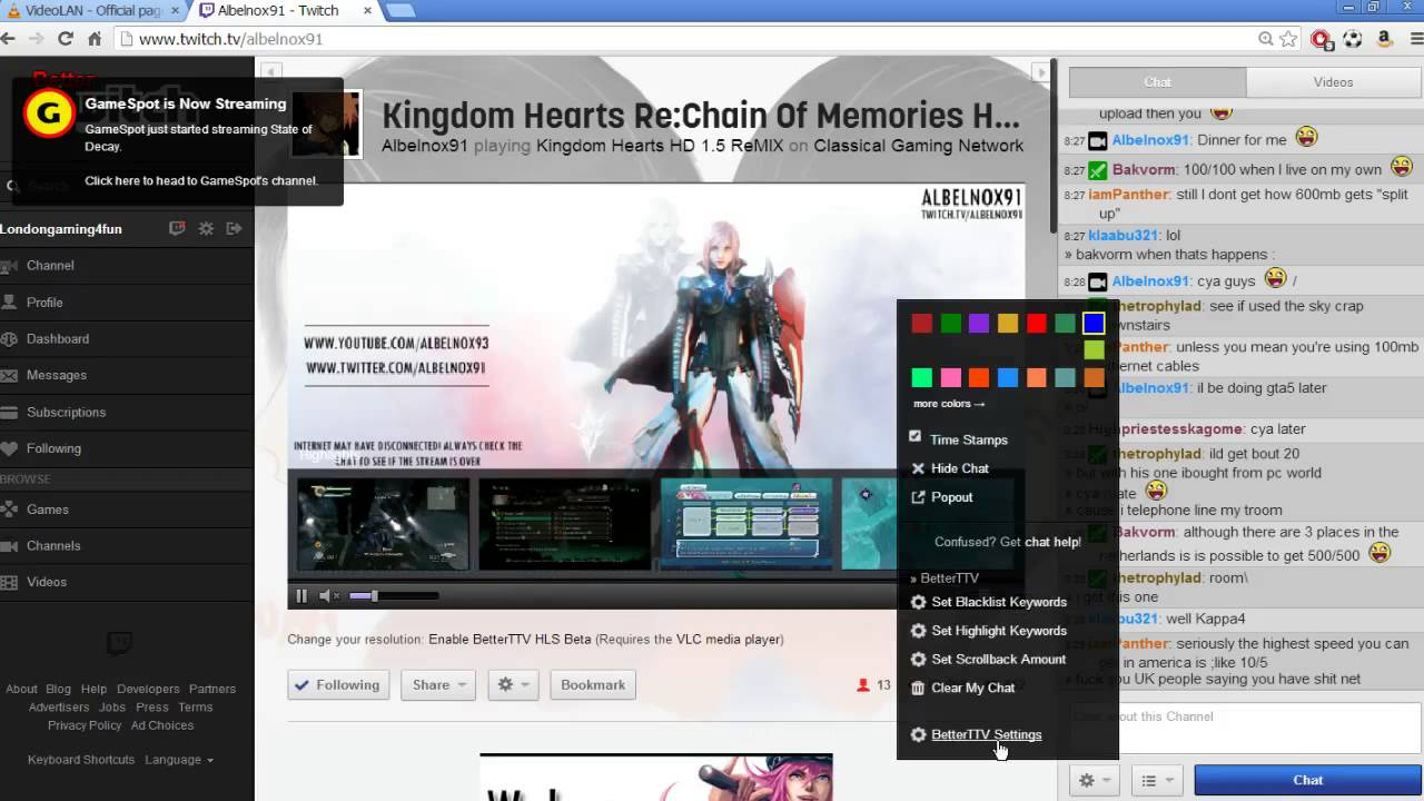 Better Twitchtv Guide[Remove Lag from Streams]Links below