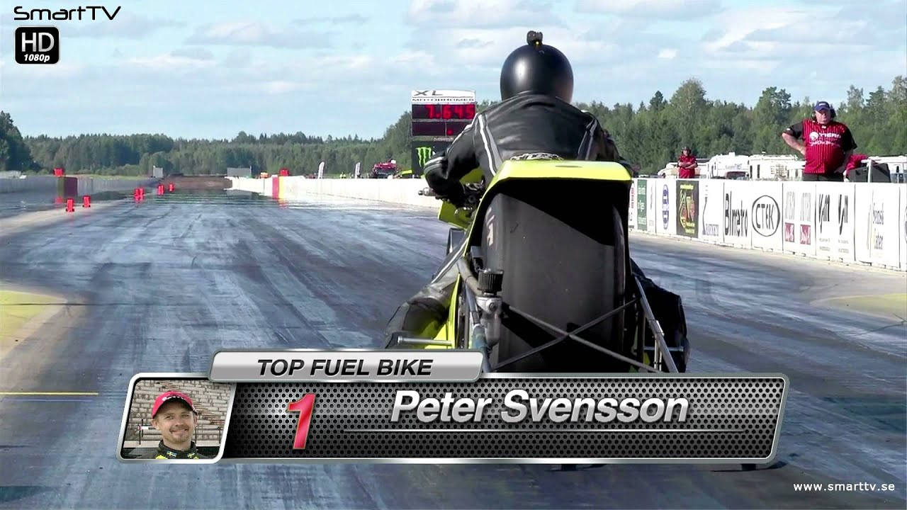 Peter Svensson Runs The Quickest Top Fuel Bike Et In The History