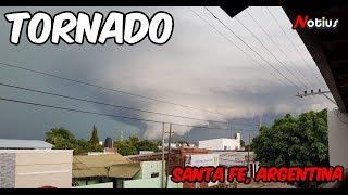 🌪️TORNADO🌪️ entre El Timbo y Guadalupe Norte, Santa Fe, ARGENTINA
