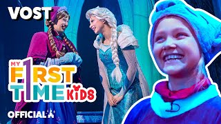 🇬🇧 VOSTR - Mon premier Spectacle avec la Reine des Neiges ! My First Time Kids