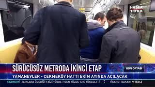 Sürücüsüz metroda ikinci etap