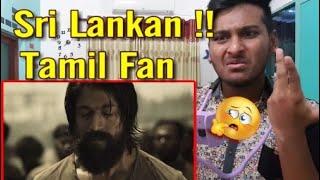 KGF Trailer Sri lankan Reaction | YASH WHO IS HE ??