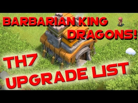 Clash of Clans - TH7 UPGRADE ORDER PRIORITY LIST GUIDE