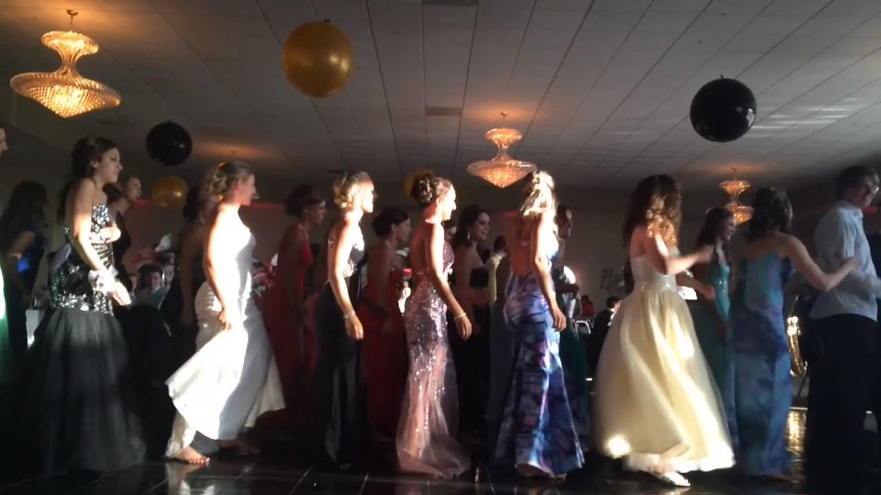 Watch Linden Students Dance The Wobble During Prom 2015