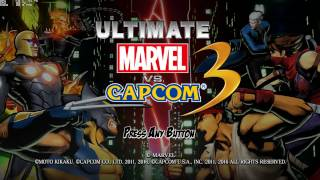 Ultimate Marvel vs. Capcom 3 - PC tour (1080p 60fps)