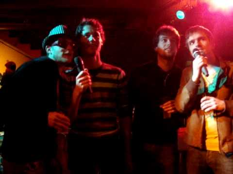 Karaoke @ Jeugdhuis X - Jan, Pieter, Jasper & Hayen