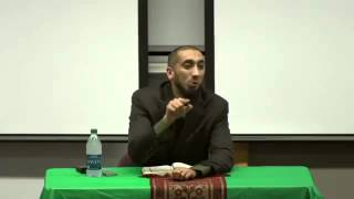 Reflection on surah Al Waqiah 75,76,77,78,79 by Nouman Ali Khan