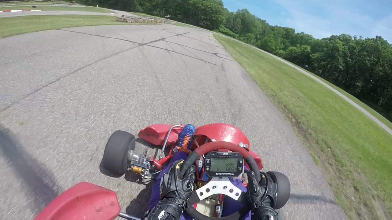 Briggs Heat Race 4/2 2017 East Lansing Kart Track
