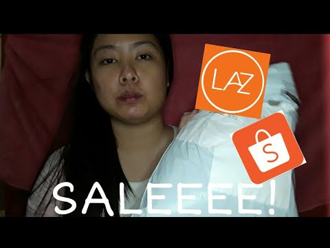 LAZADA AND SHOPEE HAUL| WHERE I GET MY DISCOUNT VOUCHERS?| MY TIPS FOR SHOPPING ONLINE