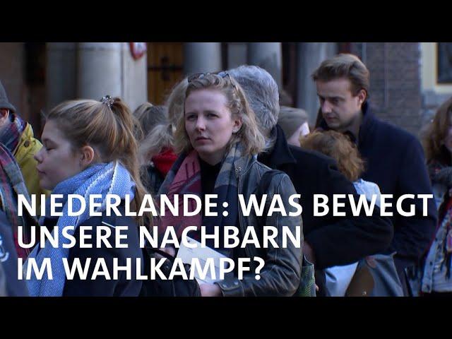 Wahlkampf in Niederlanden dreht sich um Beihilfe-Affaire, Coronakrise und Klimwandel | Weltspiegel