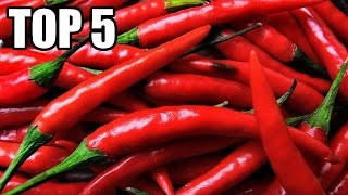 TOP 5 - Nejpálivějších papriček na světě