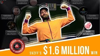 $1,624,502 RUN - Review of SvZff's WCOOP 2017 Main Event SHIP